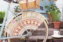 Crochet to bicycle / Virka till cykeln