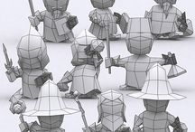 3d art references / 3d models, wireframes, low poly, textures, normalmaps, 3d tutorials