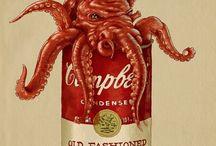 Mermaid / Octopus / by Scott Anderson