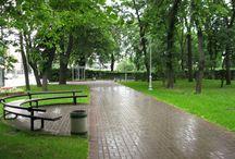 Парки и сады Киева