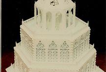 Cakes sugar art