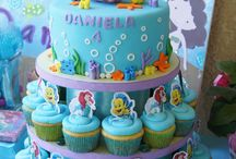 Little Mermaid Cakes
