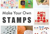 Homemade art materiale for kids