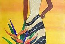 mujeres africanas / mi abuela