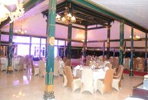 Dinner at Royal Ambarrukmo Yogyakarta / You can set your dinner at everywhere here