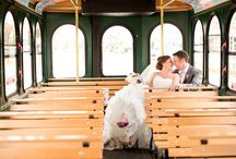 Weddings with the Flagship Trolley / The Flagship Trolley is such a unique and memorable detail to your wedding day no one will ever forget it!