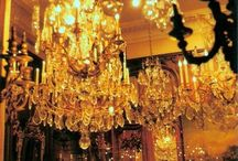 Glittering droplets of light: ode to the chandelier
