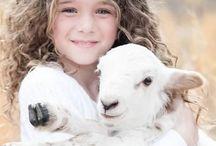 child & animal