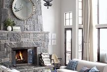 Living Room Colors and Ideas / by Dawn Griffith