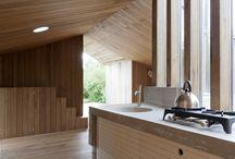 interieur keuken en timmerwerk trappen