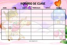 horarios escolares