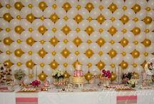 palloncini muro