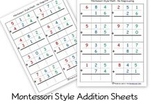 Addition printables