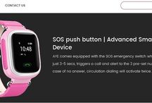 Aye Smart Tracking Watch For Child / An advanced #smart #tracking #device to stay connected with your child while they are on the move. The user-friendly interface, Precise Location Master.