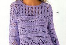 Remeras a crochet