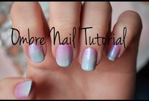 dipping ombre nails