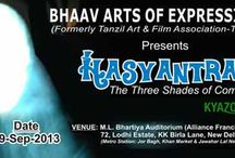 KyaZoonga.com: Buy tickets for Hasyantram - The Three Shades of Comedy