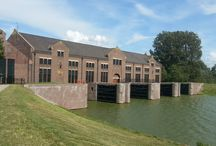 Waterbeheersing Friesland. / Watertechniek en Architectuur