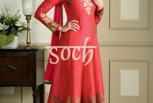 Ziva Salwar Suits 2 / Set the trend in stunning Salwar Suits from our Ziva Collection. Order your favourites now from http://soch.in/salwar/ziva-salwar-collection2.html