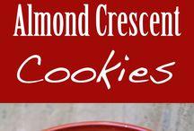 Polish Almond Crescent Cookie's