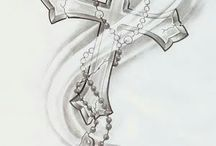 rosary cross