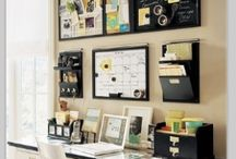 Home Office inspiration @ Holy Mess / Lovely, organized, inspiring home office space