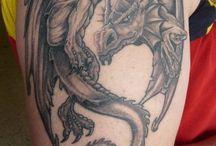 Tetování - draci