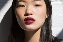 Makeup - lips or eyes that serve as style inspiration