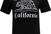 California Republic Bear T-Shirt Collection / California Republic T-shirts are all about the California lifestyle. Wear your grizzly with pride!