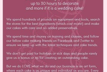 Cake Decorating Quotes and Fun Things / Fun things relating to cake decorating and inspirational ideas