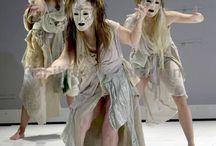 Teatro, vestuario, escenografía
