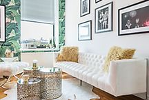 SMALL SPACES COLLECTION / Find solutions for your small space and tour the home of #NYC style influencer @weworewhat / by Z Gallerie