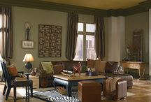 Green Rooms / Green in all its hues to provide inspiration to paint. / by BEHR Paint