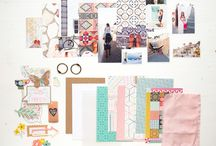 SMALL SCRAPPING / Inspiration for small scrapbook projects.