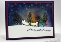 su northern lights cards / by Lavinia Dow