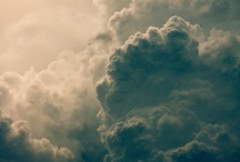 Clouds are beautiful / Nature's sculputures / by MrsBee
