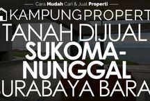 Tanah Dijual / Disewakan di Surabaya Barat