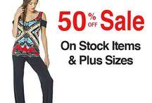 50% Off Stock Items and Plus Sizes at evavarro.com / 50% Off Stock Items and Plus Sizes at evavarro.com