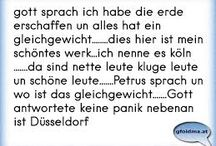 Sprüche über Köln