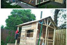 mój drewniany domek<3