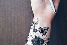 Sunflowers tattoos