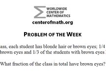 Algebra, Geometry, Calculus, Statistics, and SAT Practice Problems / At Worldwide Center of Mathematics we publish math problems for you to practice at home. The solutions for the problems can be found by following the link provided to our blog. You can also find these problems on our Blog, Facebook, Google+, Twitter, and Tumblr where you can connect with fellow problem solvers and share answers. You can find a archive of these problems (with their solutions) here: http://bit.ly/1jO21wI