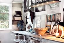 Workspace / Home office, creative workspace and small business office ideas.