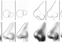 como dibujar nariz