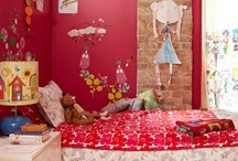 CHILDREN--CREATIVE SPACES / What kid wouldn't want to live or play in the rooms and spaces in the collection below?  I need more grandbabies! / by Linda Hibner