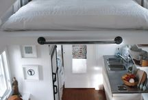 Small Space Design and Ideas / We love this smart and efficient use of small spaces!