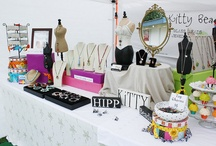 Crafty Biz: Merchandise Display / Retail display for shops, boutiques, craft booths and trade shows.  / by Gracie Designs