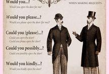 Englishman Etiquette