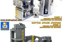 Instructions for Custom Lego Models / Collection of my custom instructions.