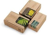 Eco packaging / Organic style packaging for earth friendly people